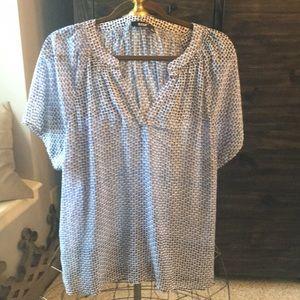 Ladies short sleeved blouse